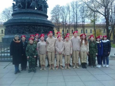 Международный флешмоб «Катюша», отряд Патриот