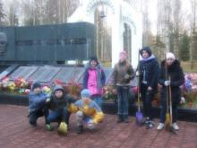 """28 октября в Новоселицкой школе прошла акция """"Память наших сердец"""""""